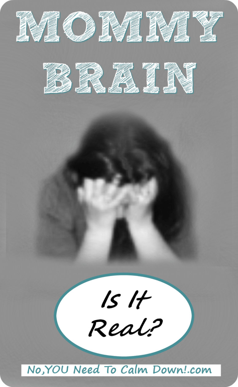 Is Mommy Brain real? It sure would explain a lot!