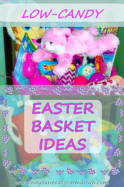 Low Candy Easter Basket Ideas