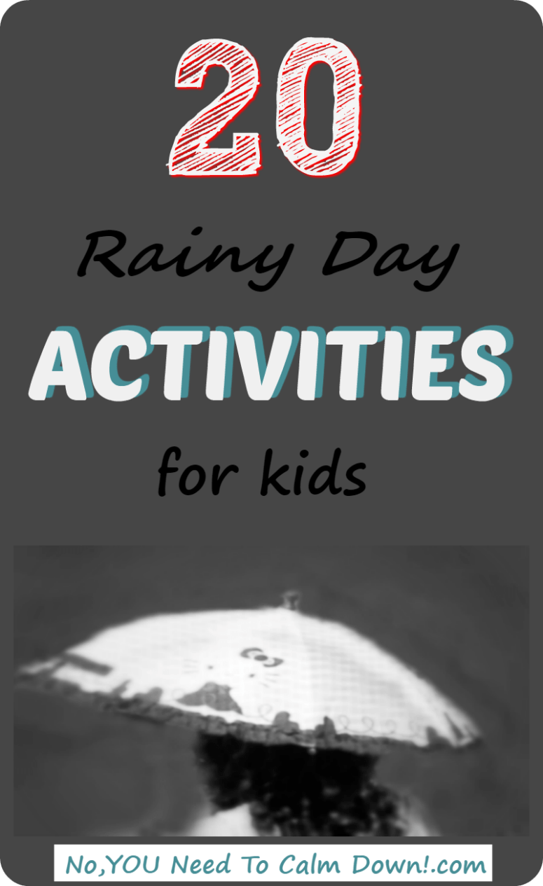 Rainy day activities to keep kids happy when boredom strikes!