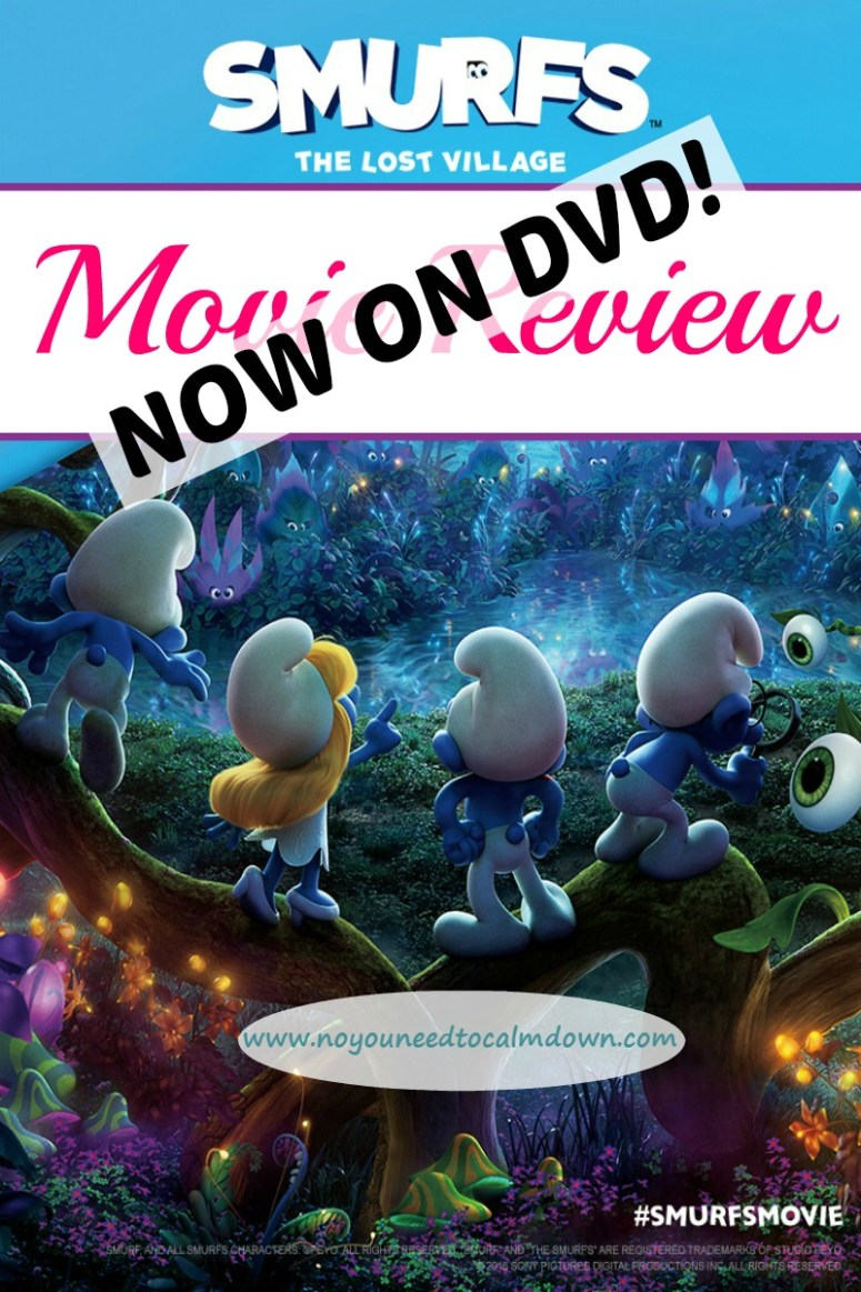 Smurfs The Lost Village Movie Review - Now available on DVD!