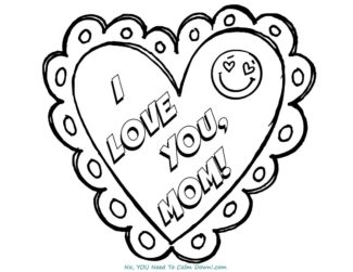 image about Mothers Day Coloring Pages Free Printable referred to as Moms Working day Coloring Webpages For Little ones - Free of charge Printables No