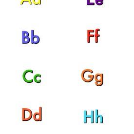 Alphabet – Free Printables