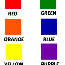 Colors – Free Printables