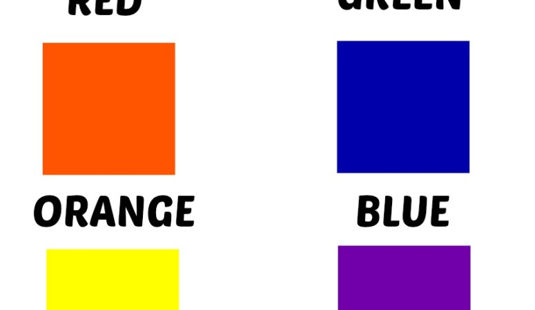Colors Free Printables
