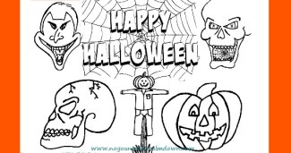 Halloween Coloring Pages for Kids – Free Printables