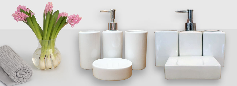 accessoires de salle de bain en