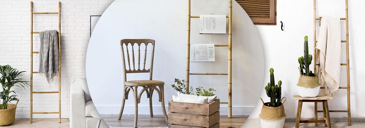 Echelles En Bambou Pratiques Et Decoratives Nozarrivages