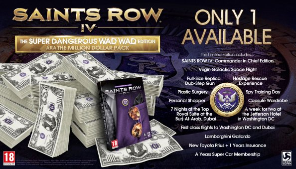 Saints Row 4 Million Dollar Edition