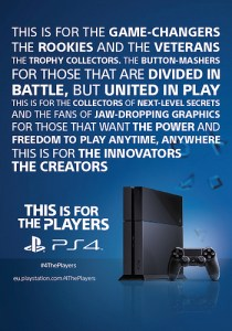 4 The Players PS4
