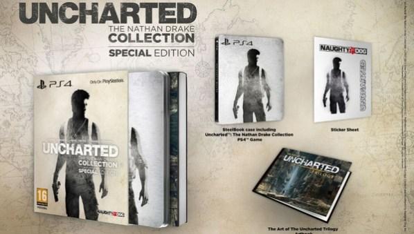 Uncharted Nathan Drake Collection SE