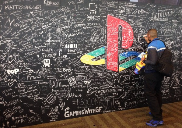 PSX Signature Wall