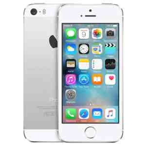 iPhone 5S 16GB Prateado Seminovo (Grade A)
