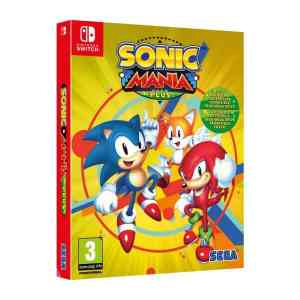 Jogo Sonic Mania Plus Nintendo Switch