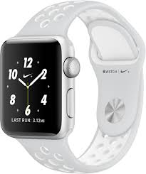 Apple Watch Series 2 38mm NIKE + Aluminum Case Silver Stone Seminovo Grade A+