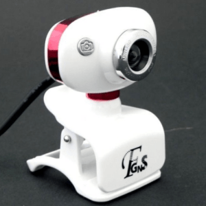 Webcam DWC Oval Rosa:Branco 16MP c:Microfone