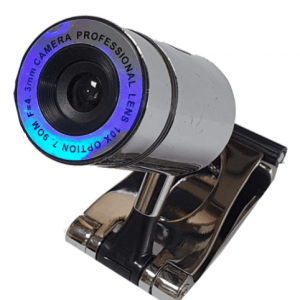 Webcam Silver redonda 5.2MP 10X ZOOM c/Microfone