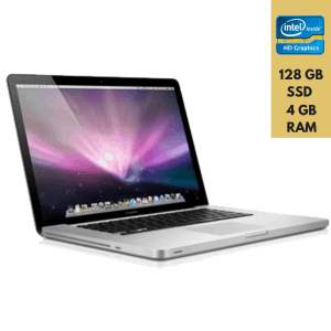 "Apple MacBook PRO 15"" Intel Core i7-2675QM 4GB RAM 128GB SSD Seminovo"