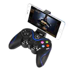 Comando GamePad Wireless Controler Azul