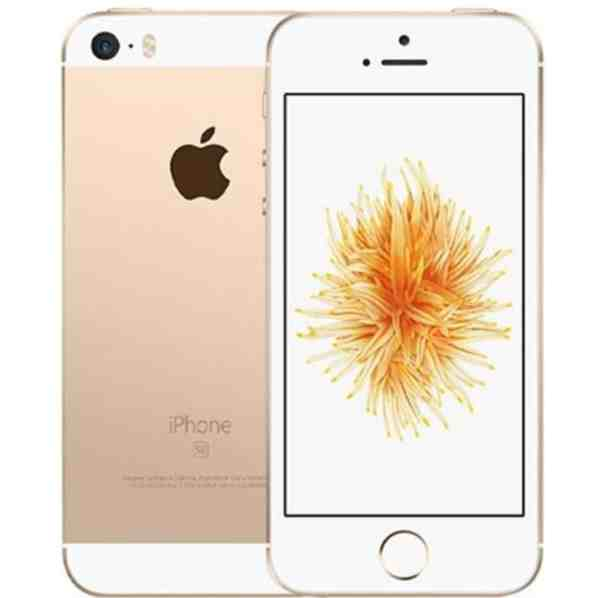 iPhone SE 32GB Dourado Seminovo