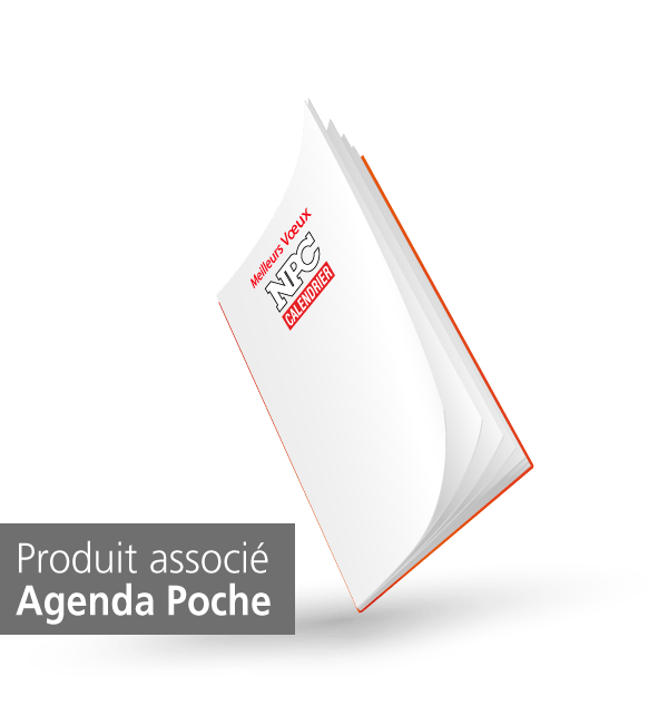 produit agenda de poche, npc-calendrier.fr