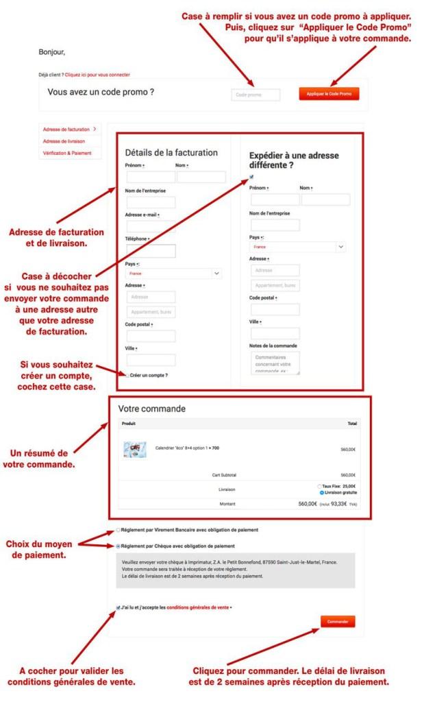 tutoriel de personnalisation en ligne de calendrier de sapeur-pompier 46, npc-calendrier.fr