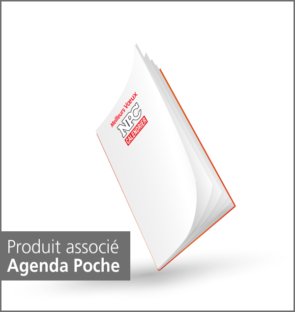 produit agenda de poche, calendrier sapeur-pompier, calendriers sapeurs-pompiers, npc-calendrier.fr