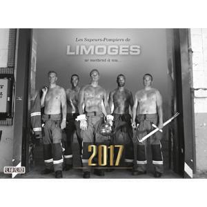 calendrier des sapeurs-pompiers de limoges-2017-0, npc-calendrier.fr