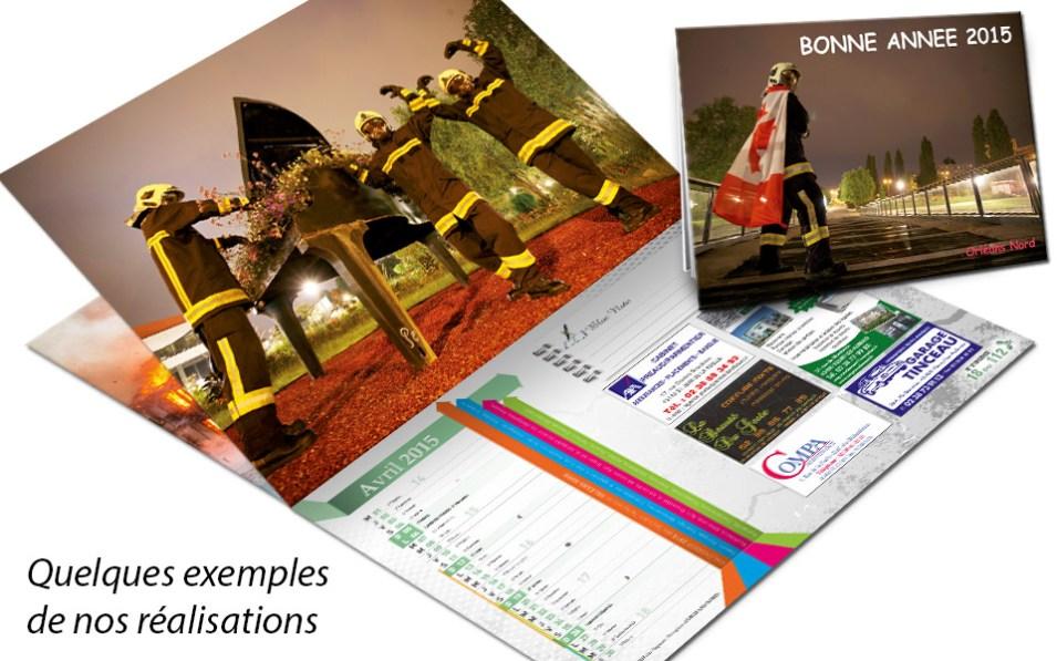 npc-calendrier.fr, calendrier des sapeurs-pompiers personnalisés et personnalisables, orleans, 2015