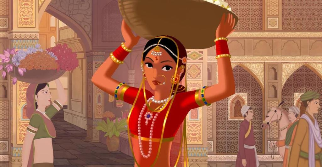 Bombay Rose la protagonista Kamala