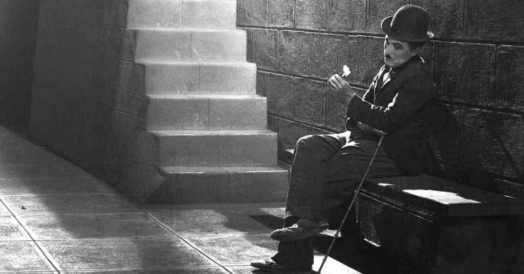 Charlie Chaplin luci della città