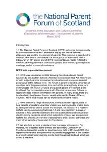 NPFS evidence - Education & Culture Committee - Attainment and parental involvement - FINAL_Page_1