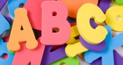 alphabet pile