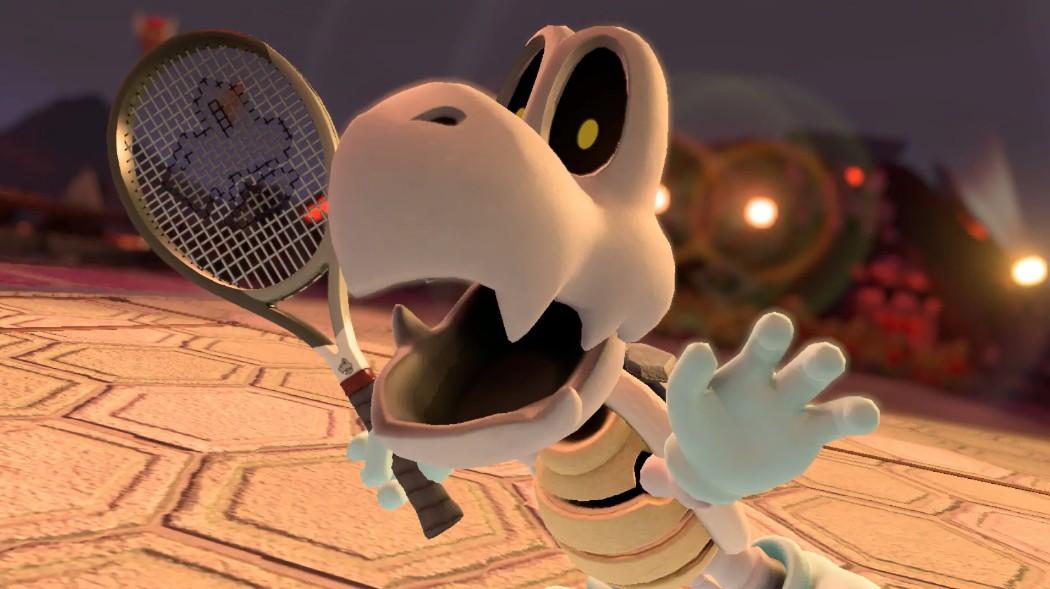 Mario Tennis Aces, svelata la classe di Tartosso
