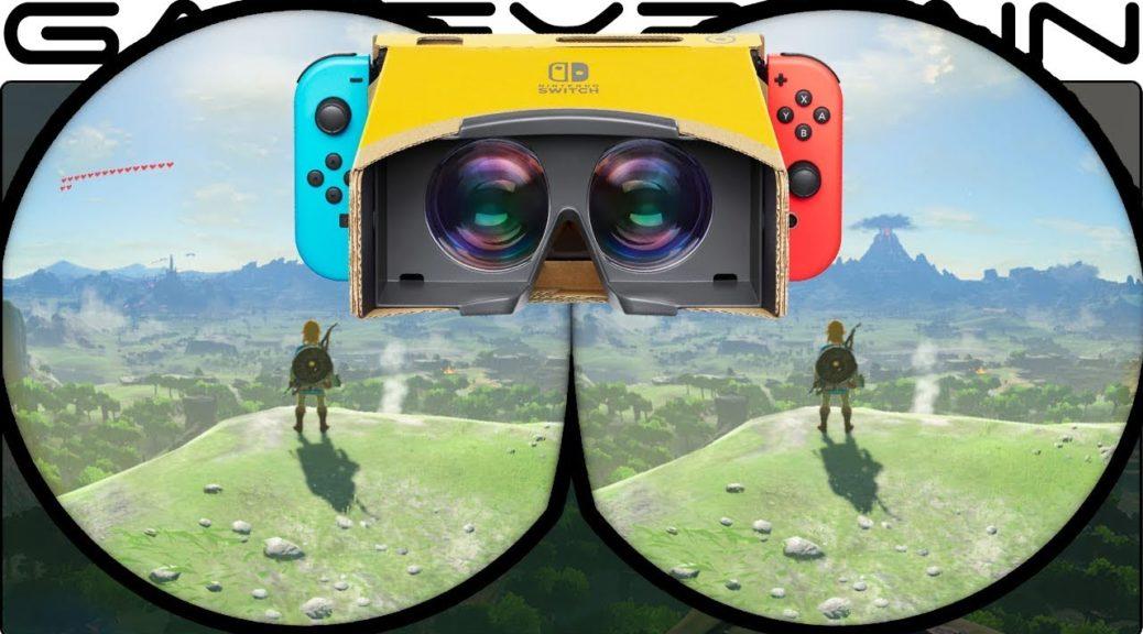 La modalità VR di The Legend of Zelda: Breath of the Wild avrà il tracking della testa