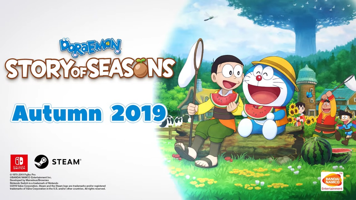Doraemon: Story of Seasons, in arrivo anche in Europa su Nintendo Switch