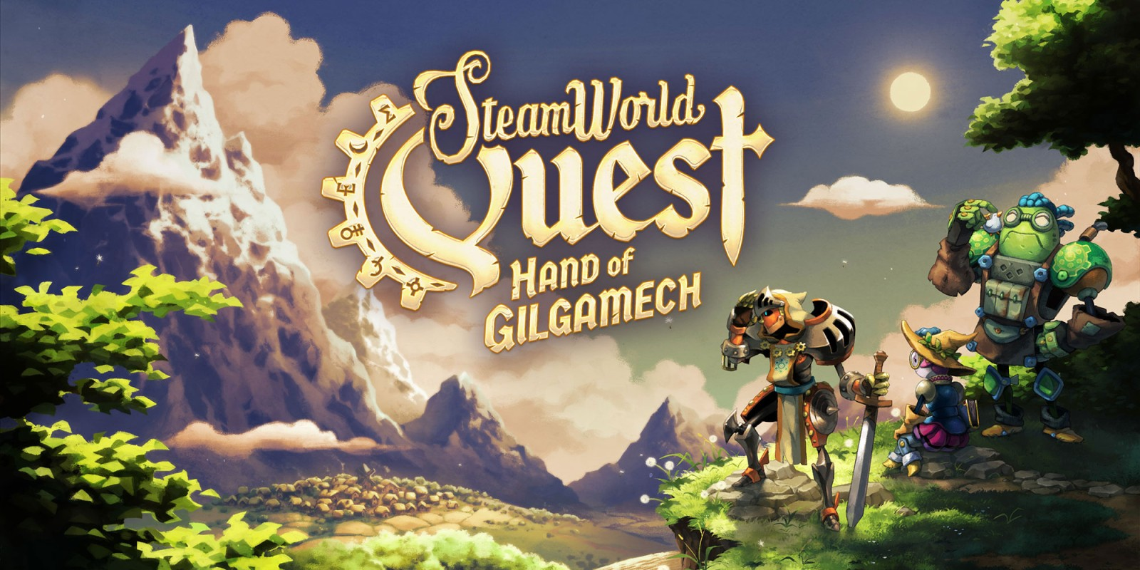 SteamWorld Quest: Hand of Gilgamech - Recensione