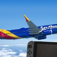 La compagnia aerea low-cost che regala Nintendo Switch e Super Mario Maker 2 ai suoi passeggeri