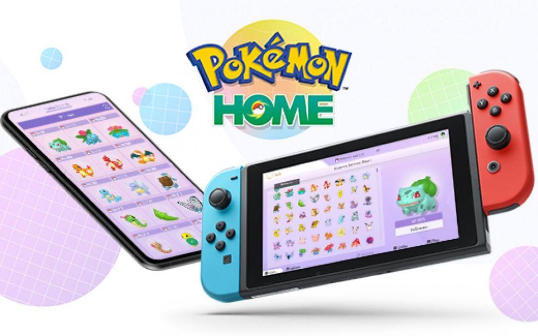 Pokémon Home: disponibile da oggi l'applicazione su Nintendo Switch, iOS e Android