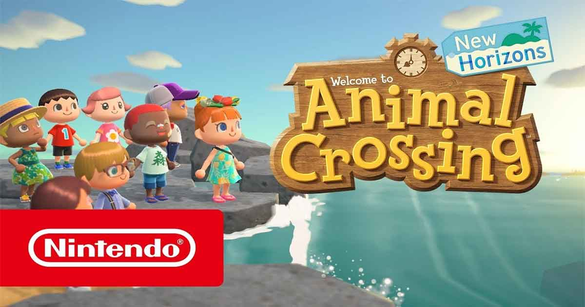 Animal Crossing: New Horizons, online il sito giapponese