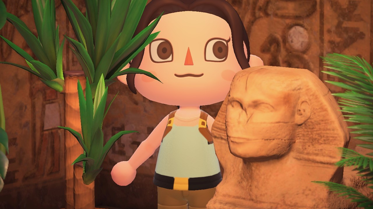 Lara Croft arriva in Animal Crossing: New Horizons, disponibili i costumi ufficiali