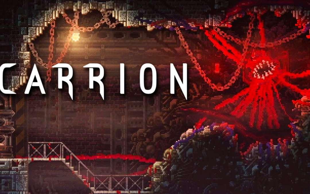 Carrion: il particolare metroidvania horror sarà pubblicato a luglio