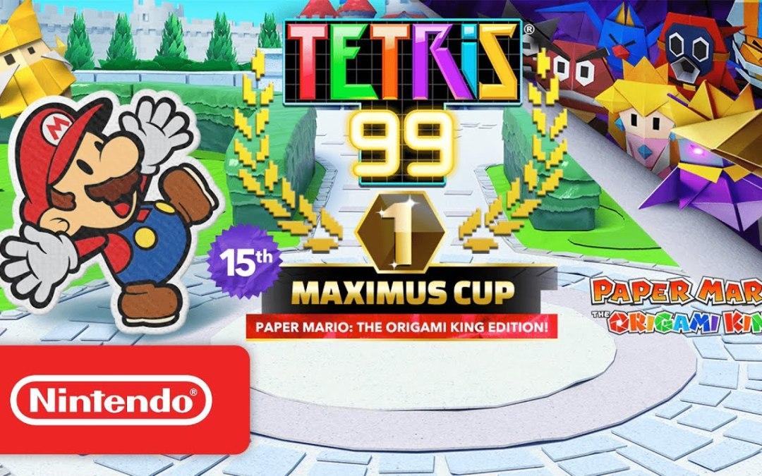 Tetris 99: annunciata la 15esima Maximus Cup