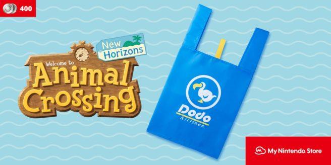 My Nintendo, ora disponibile la shopper bag di Animal Crossing: New Horizons