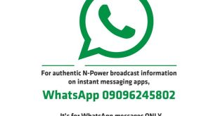 npower whatsapp number