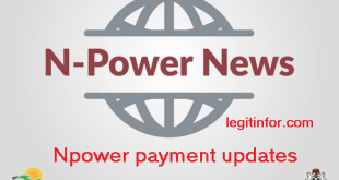 Npower April stipends payment updates for all npower Beneficiaries