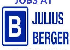 Julius Berger Nigeria Plc is Recruiting to fill in Vacant Positions Apply here