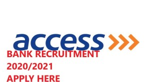 Access bank job recruitment Cyber Security Analyst Security Technology And Engineering