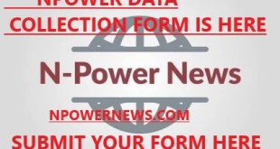 Npower Exit Volunteers Transition Data Collection Form is out 2020 Access the form here