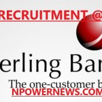 Sterling Bank plc job recruitment Team Lead Credit Monitoring 2020