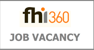 FHI 360 Job recruitment Assistant Technical Officer Child Protection